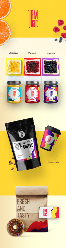 Фірмовий стиль для кав'ярні-магазину