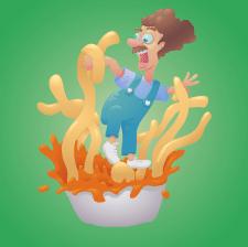 Поедатель спагетти