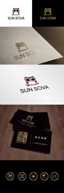 Логотип и иконки для магазина солнечных очков