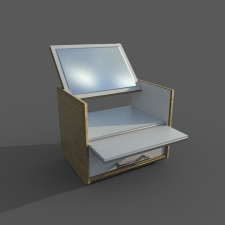 Простая демонстративная визуализация мебели