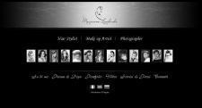 имидж-сайт стилиста (дизайн + верстка)