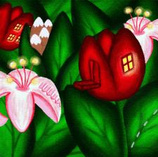 Цветочный городок
