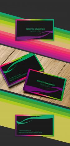 дизайн визитки для себя