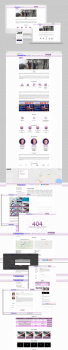 Разработка всех страниц сайта Санруз