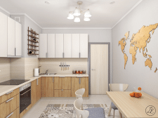 """Проект """"Продуманное спокойствие"""" - Кухня"""