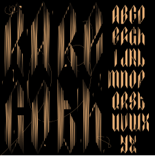 Rare.Goth (Шрифт)