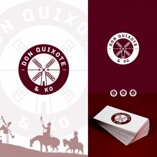 Логотип для литературной студии DON QUIXOTE