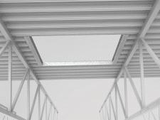 Рамка под зенитный фонарь