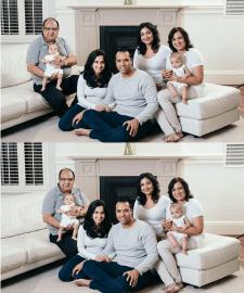 Перемещение дедушки ближе к семье