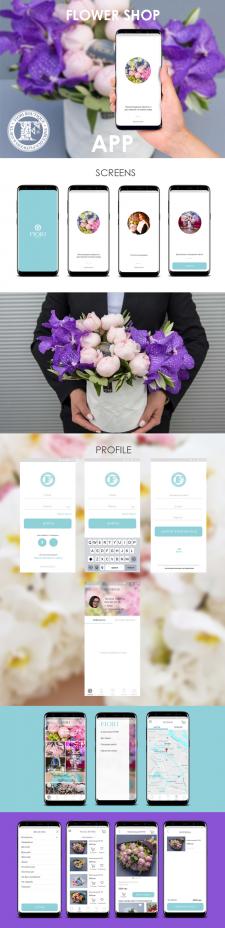 Мобильное приложение для цветочного бутика