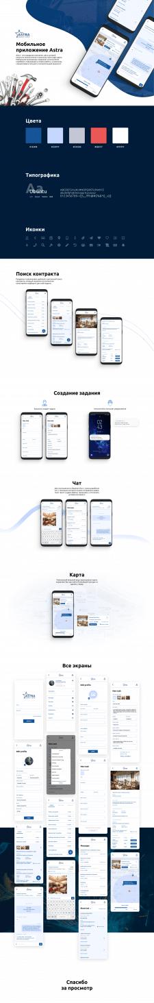 Мобильное приложение Astra