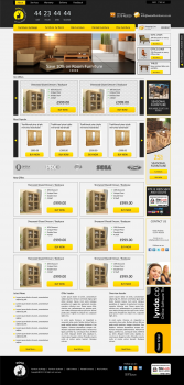 Адаптивная верстка интернет магазина OpenCart