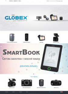 Корпоративный сайт Globex