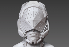 star_guardian_high-poly_sculpting (part1)