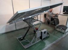 Испытательный стенд следящей системы за солнцем