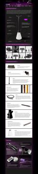 Дизайн страницы О Кальяне