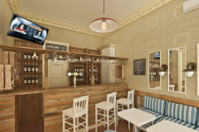 Проект кафе в Одессе