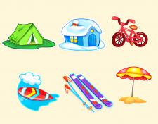 иконки для игры (стикеры)