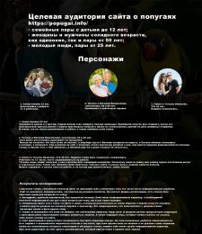 Обзор ЦА сайта, UI/UX-архитектура,