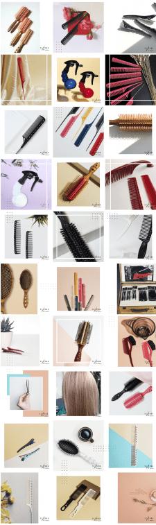 Оформление соц.сетей для Дистрибьютора парикмахерс