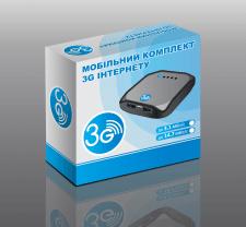 упаковка на 3G роутер