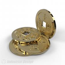 Монета ФенШуй.