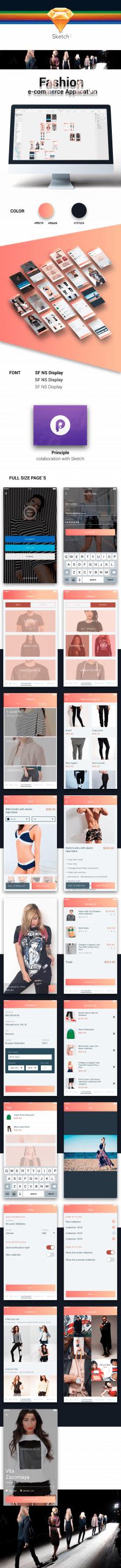 Fashion e-commerce App