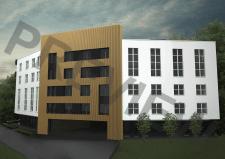 визуализация, постобработка, многоквартирный дом