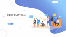 Сайт для IT команды