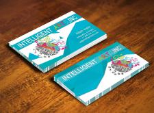Дизайн визитки для Intelligent Art