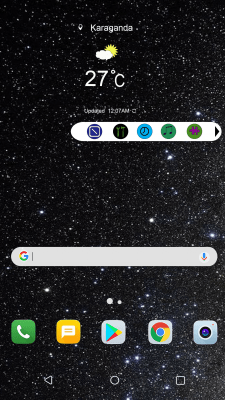 Интерфейс меню айфона