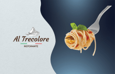 Logotype and identity for a Al Trecolore restauran