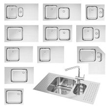 Предметна візуалізація кухонної мойки BARAZZA