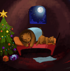 Спящие медвежата