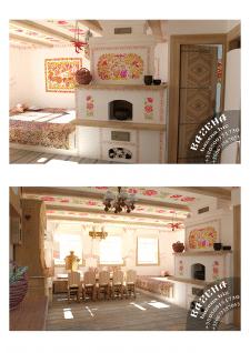 Домик в украинском стиле