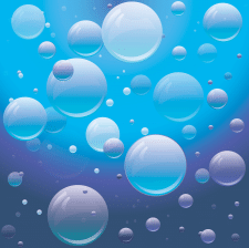 Bubble Water background