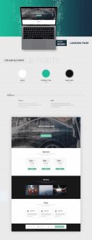 Landing Page :  Автомойки Medusa