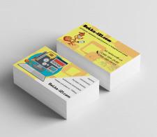 Конкурсная работа. Дизайн визитки.