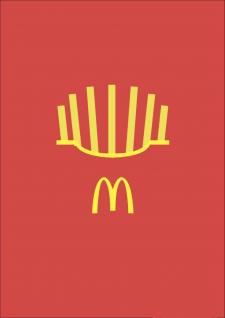 """Баннер """"McDonald's"""""""
