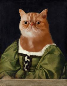 Стилизация животных под живопись