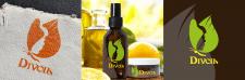 Логотип косметического масла Divoil