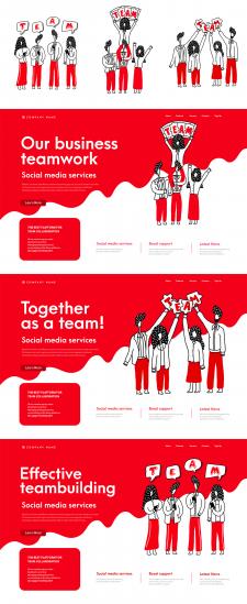 Иллюстрации и пример для немецкого сайта