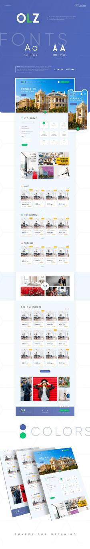 Дизайн сайта доски объявлений