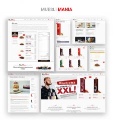 "Online Shop ""Muesli Mania"""