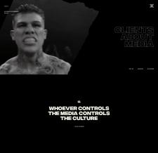 Сайт-визитка для A Global Entertainment Agency
