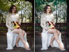 Цветокоррекция + ретушь фото