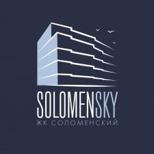 """Фирменный стиль для ЖК """"SOLOMENSKY"""""""
