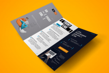Leaflet for IT company