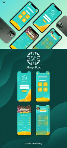 UI/UX Приложение по доставке еды