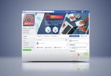 Оформление FB для рекламного агентства